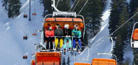 Korte skitrip naar Park City
