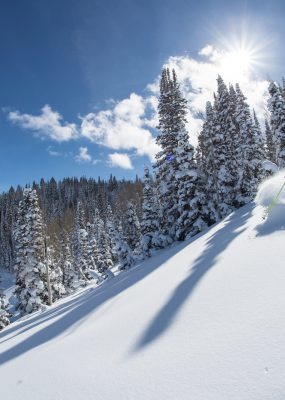 Powder Power in de Utahse skigebieden